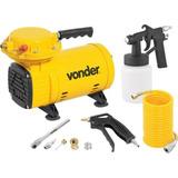 Compressor De Ar Direto 1/2 Hp Com Kit Bivolt Vonder