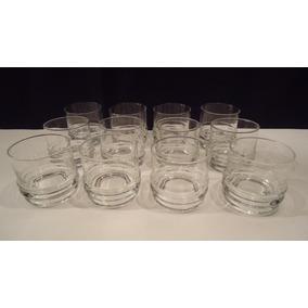 Doce Vasos Whisky En Cristal San Carlos C21