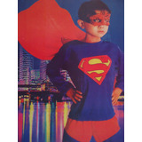 Fantasia Infantil Do Super Homem Superman Anime Cosplay