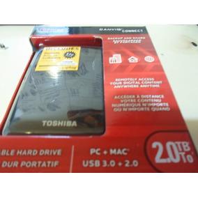 Disco Duro Externo Toshiba 2tb Totalmente Nuevo