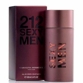 212 Sexy Carolina Herrera Para Hombre Original 100ml
