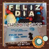 Chocomensaje Chico Starwars Regalo Original Día Del Niño