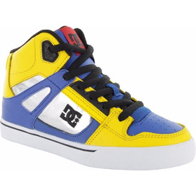 Zapatillas Dc Shoes Niños Spartan High Byl #17112233
