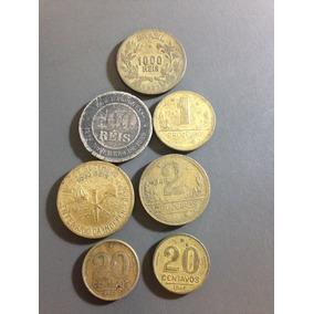 Moeda 1000 Reis(1927), 100 Reis(1889) E Outras