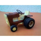 Tractor De Chapa Y Plastico Años 70s