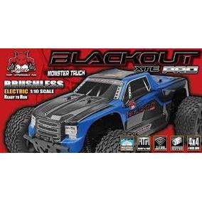 Automodelo Redcat Blackout Xte 1/10 Elétrico Motor Bruchlss
