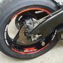 Friso Adesivo Refletivo Roda M1 Moto Suzuki Gsx R 1000 Srad