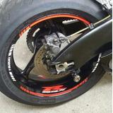 Friso + Adesivo Refletivo Roda M1 Moto Suzuki Gsx R 750 Srad