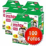 Pack Cargas 100 Películas Fujifilm Instax Mini (10x10 Exp)