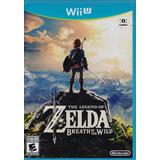 The Legend Of Zelda Breath Of The Wild Wii U