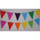 Banderines Guirnaldas En Cartulina Para Cumpleaños Fiestas