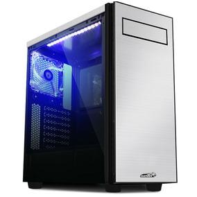 Gabinete Gamer Sentey Shuko Aluminio | 2 Cooler Led | Envio
