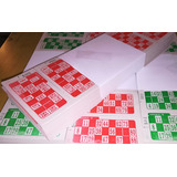 Cartones Bingo X 2016 (caja Cerrada X 10 Series)