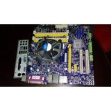 Placa Socket 1156 Foxconn Q57 Con Procesador