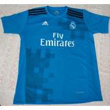 Camisa Real Madrid Adulto Temporada 2017/2018