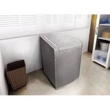 Capa P/ Maquina De Lavar Roupas Consul 10kg 11,5kg - Cinza