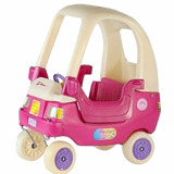Auto Caminador Coupe Lady Rotoys Puertas Rosa