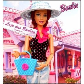 Bolsa Fashion Azul Para Boneca Barbie / Susi / Blythe * F29
