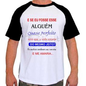 Camisetas Com Trecho De Musicas Camisetas Manga Curta Para