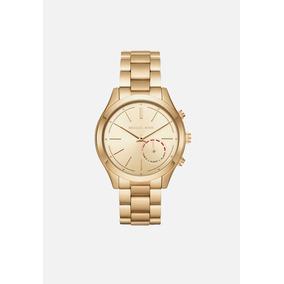 Reloj Michael Kors Hibrid Smartwatch Oro