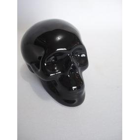 Cofre Cranio Caveira Preta Black Skull