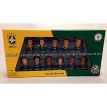 Seleção Brasileira Mini Craques Brasil 11 Jogadores Original
