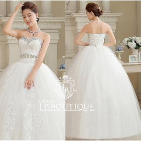 Vestido Noiva Princesa Renda Grandiose Coração Pronta Entreg