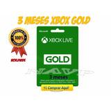 Tarjetas Xbox Live Gold 3 Meses - Entrega Inmediata
