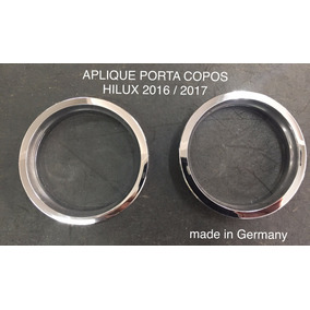 Aro Porta Copo Hilux 2016 2017 Aplique Acessorio Decorluz