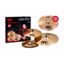 Meinl Kit De Pratos Mcs Liga B8 14/16/20 E Medium 18