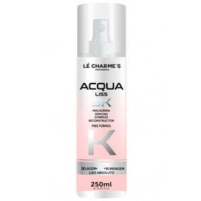 Spray Acqua Liss 3k Lé Charmes 250ml # Liso Absoluto