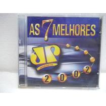 Jovem Pan As 7 Melhores De 2002 Cd Original Impecável