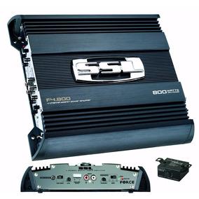 Modulo Ssl 800x4 800w Rms 4 Canais 2 Ohm Amplificador