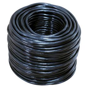 Cable Eléctrico Uso Rudo Cal.2x12 100m Blanco Y Negro 136935