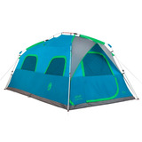 Carpa Coleman Instant Mountain Para 8 Personas Auto Armable