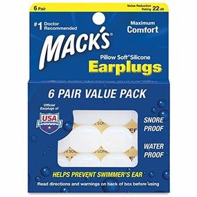 Protetor Auricular Macks - Moldável Pillow Soft - 6 Pares