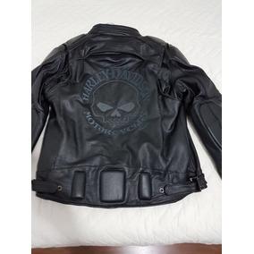 Jaqueta Couro Harley Davidson Skull Nova