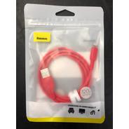 Cable Baseus Lightning Colourfol 2,4 Amp 1.2 Mt Cerificado!!