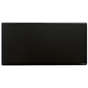 Azulejo 7,5x15 Negro Brillante X M2