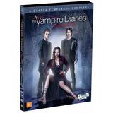 Dvd The Vampire Diaries 4 Temporada Original Novo E Lacrado