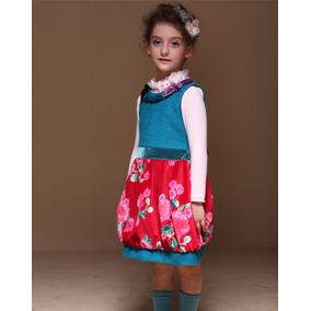 Vestido Talla 4-5 Años Fiesta Lovelybutterfly