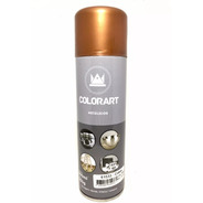 Tinta Spray Cobre Metálico Colorart Automotivo Objetos 300ml