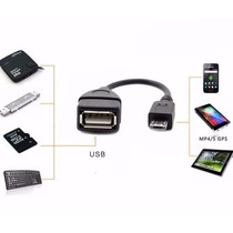 Cabo P/ Teclado Mouse E Pendrive Otg Galaxy Tab 2 10.1 P5100