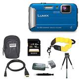 Cámara Digital Panasonic Lumix Dmc-ts30 (básica, Azul)