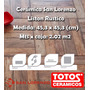 Liston Rustico 45,3 X 45,3 1ra (cermica Simil Madera) Totos