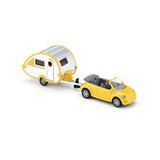 Siku Serie 1629 Vw New Bettle Cabrio + Casa Rodante Metal