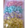 Confeitos De Açúcar Comestíveis - 200 Margaridas 1,5 Cm
