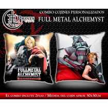 Combo Cojines Personalizados Anime: Full Metal Alchemyst