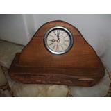 Reloj Rústico En Madera