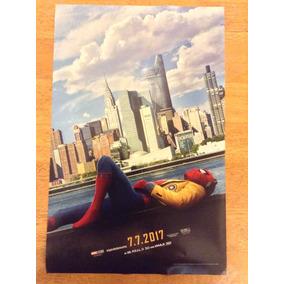 Spiderman Homecoming Hombre Araña Regresó A Casa Imax Poster